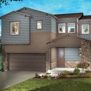 Exterior of a 3D Shea Home Floor Plan