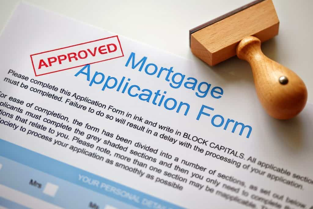 Conventional loan application form