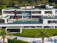Exterior of the Bel Air Mega-Mansion