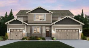 Luxury new home at Tehaleh in the highland forests with a stunning Mt Rainier backdrop