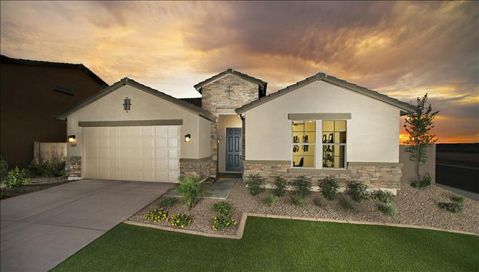 Rockwell Plan in Arroyo Norte of Beazer Homes from low $300s