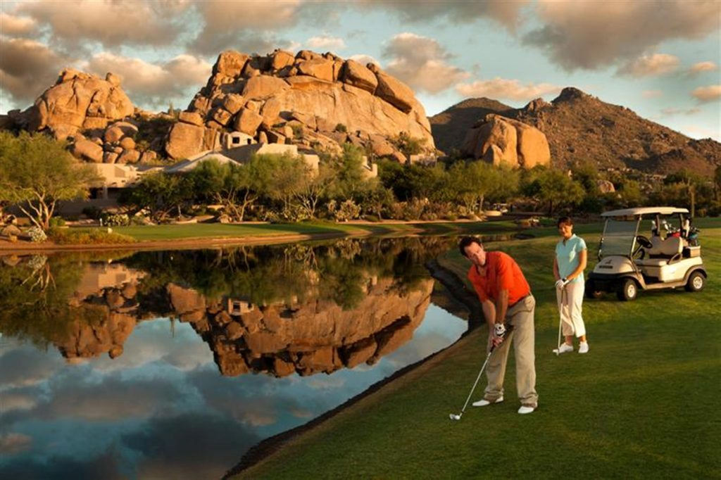 The Boulders with Best golf course among the Master planned communities