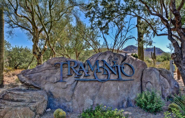Tramonto Master planned community sign