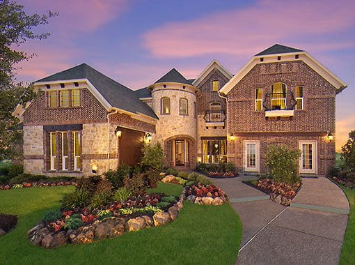 Windsor Model Homes by Landon Homes of Richwoods Province