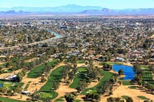 Master Planned Community Drone View | Taylor Morrison