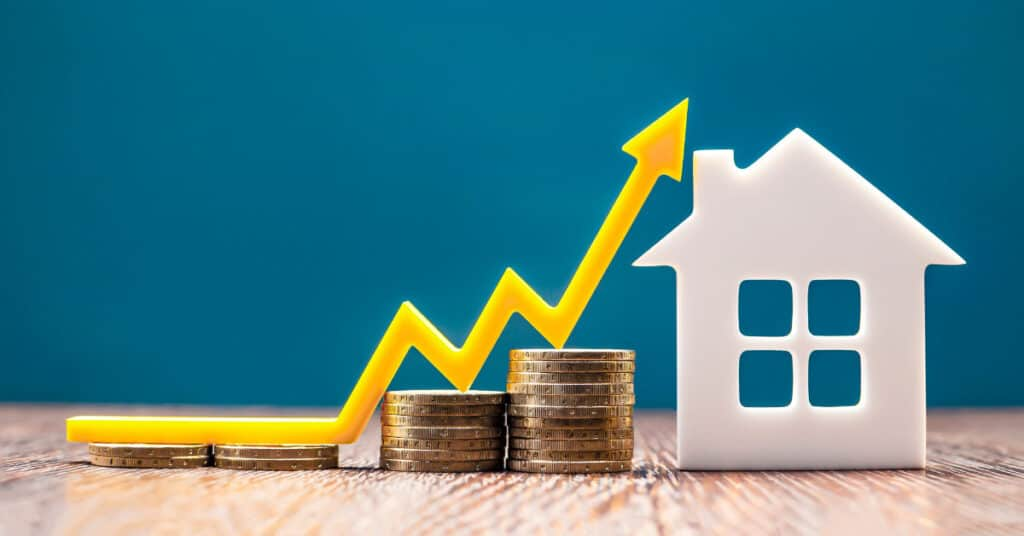 Home prices are going up